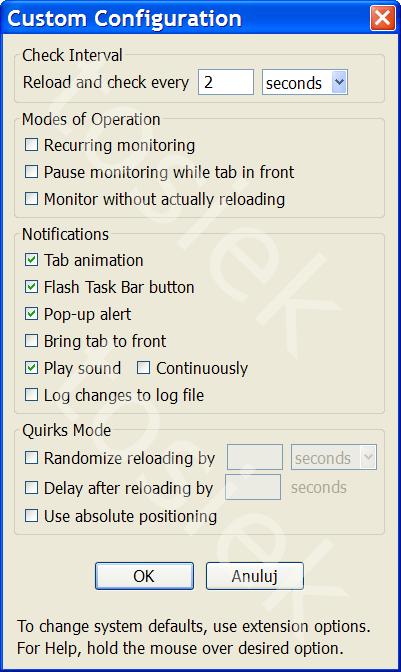 Automatyczne odświeżanie strony Google+ za pomocą wtyczki Check4Change
