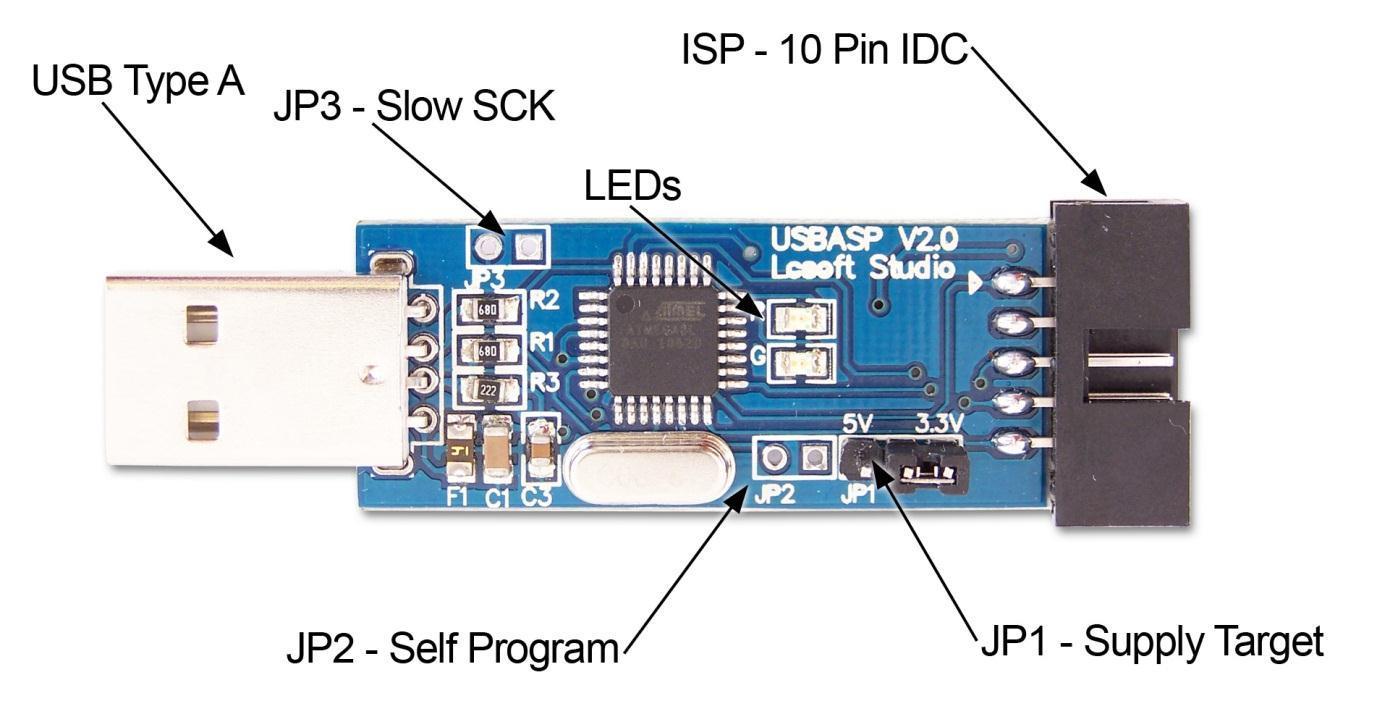 usbasp-v2.0-board-pinout