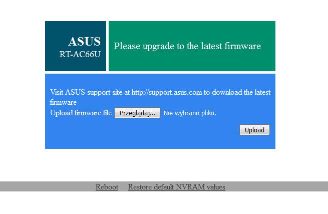 ASUS RT-AC66U CFE and DD-WRT on H/W version B0, tosiek kodowanie znaków