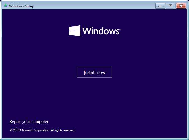 advanced start-up from bootable usb pendrive